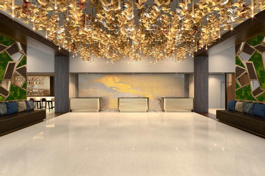 Westin Galleria Lobby Concept Rendering (September 2017) 12 of 14