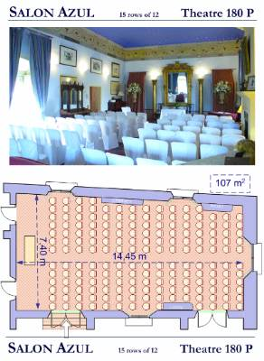 Casa De Carmona Blue Suite Seating Plans 18 of 27