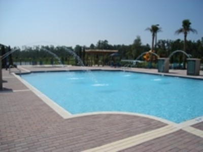 Large Heated Pool With Water Features 3 of 11