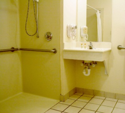Handicap Room/roll In Shower 12 of 27