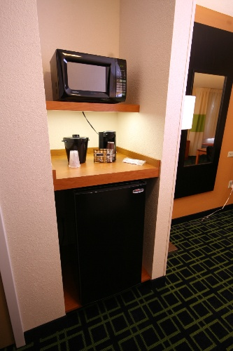 Each Room Is Equipped With A Microwave Fridge And Coffee Station. 11 of 11