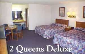A 2 Queen Deluxe Offers A Little More Space Along With A Mini-fridge Microwave And Coffeemaker. 4 of 11
