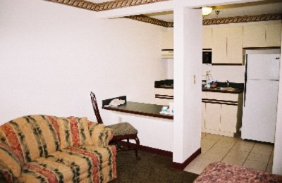 All Rooms Have Kitchens! Full Size Refrigerator Two Stove Top Burners And A Microwave! 4 of 5