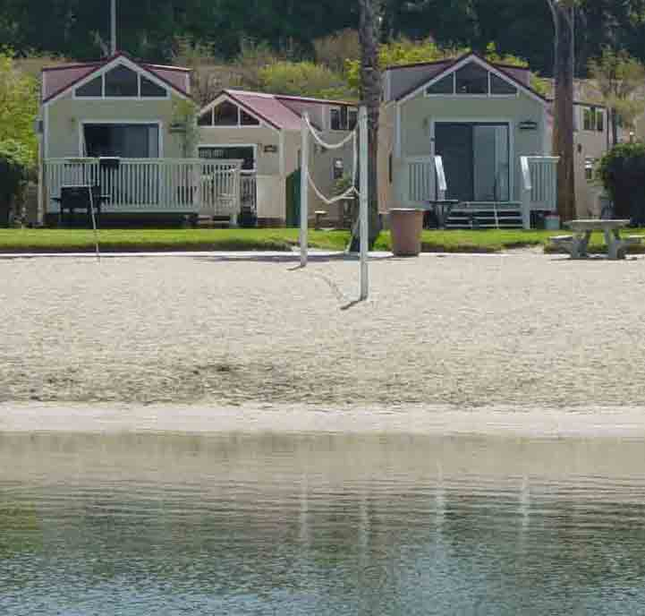 Newport Dunes Waterfront Resort Beach Front Cabins/Cottages