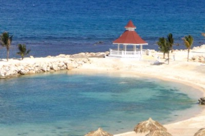 Wedding Gazebo On The Water At The Gran Bahia Principe Jamaica 8 of 11