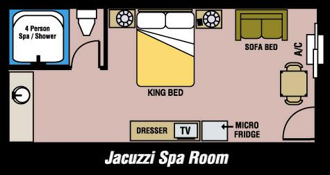 Jacuzzi Room 8 of 8
