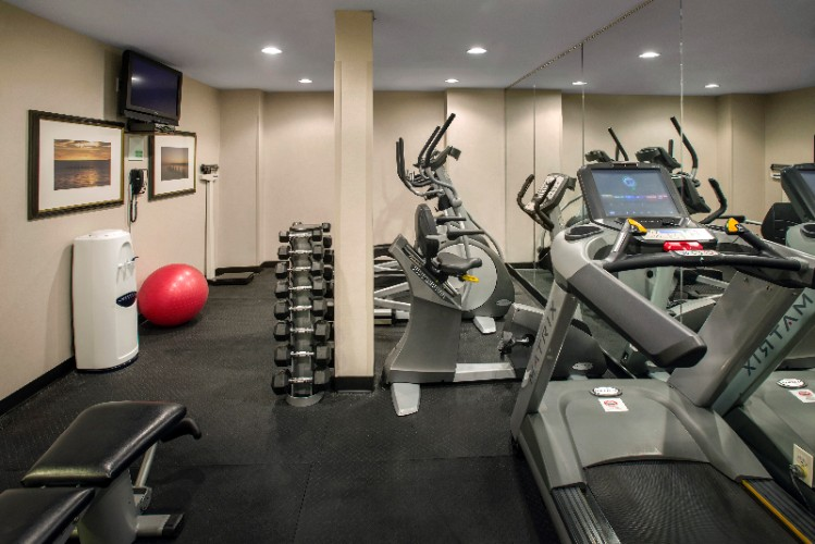 Stay Fit While On The Road In Our 24/7 Fitness Center! 7 of 12