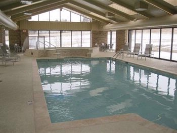 Indoor Heated Pool With Waterfall Cascade 10 of 15