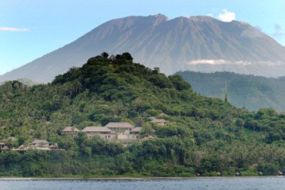 Amankila With Mount Agung Background 3 of 7