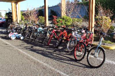 Part Of Our Complimentary Bike Rental Fleet. 24 of 27
