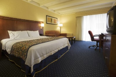A Fully Equipped Guest Room Will Encourage You To Be Productive During Your Stay. 8 of 8