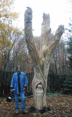 Maple Tree Carving 25 of 26