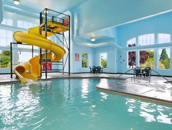 Indoor 80\' Waterslide 2 of 7