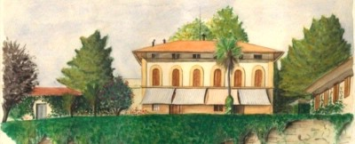Oil Painting Of The Villa 9 of 11