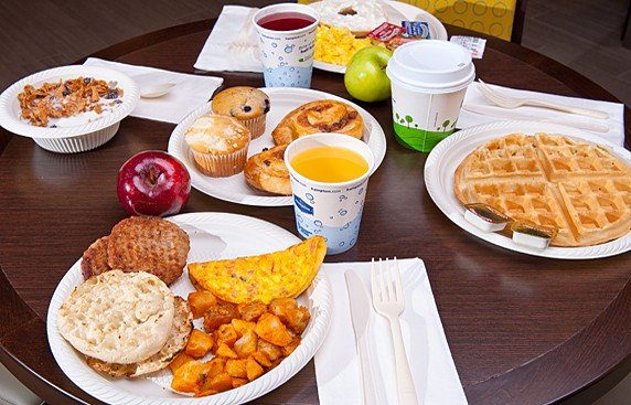 Complimentary Hot Breakfast Daily 15 of 16
