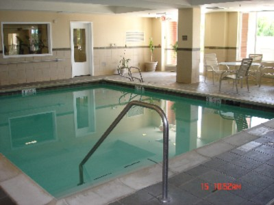 Indoor Pool Holiday Inn Express Vacaville 5 of 10