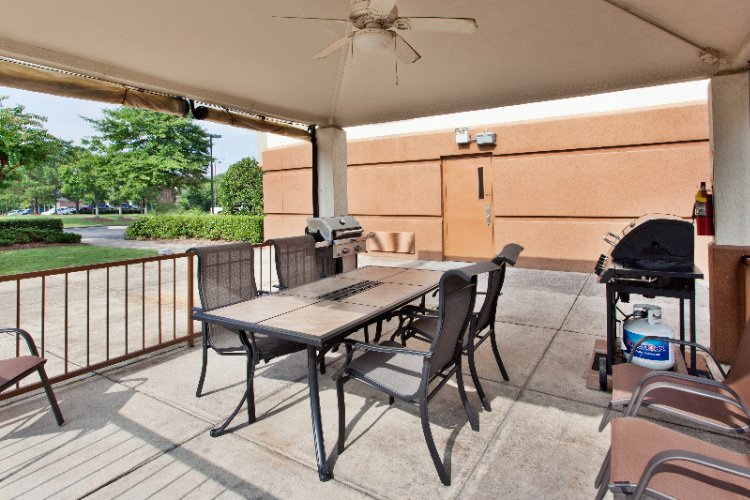 Gazebo With Two Gas Grills For Your Enjoyment 11 of 11