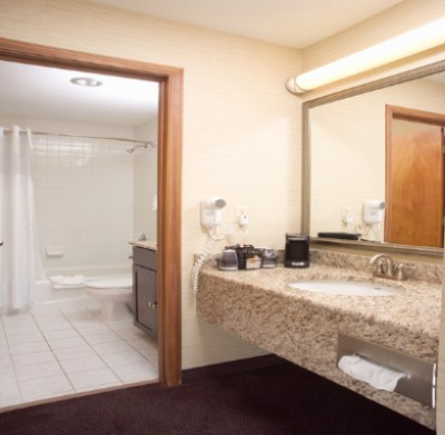 Suite Bathroom Area (2 Sinks) 9 of 11
