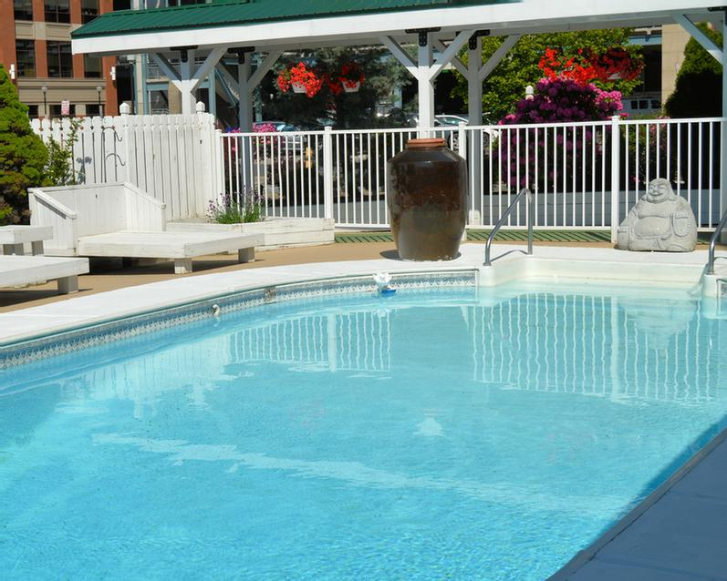 Take A Refreshing Dip Into Our Beautiful Outdoor Pool. 10 of 17