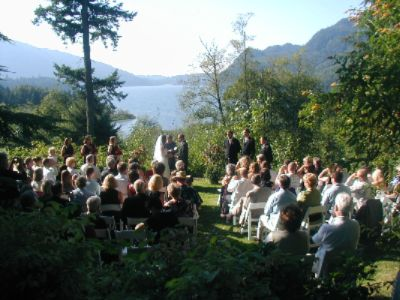 Wedding On The East Lawn 6 of 9
