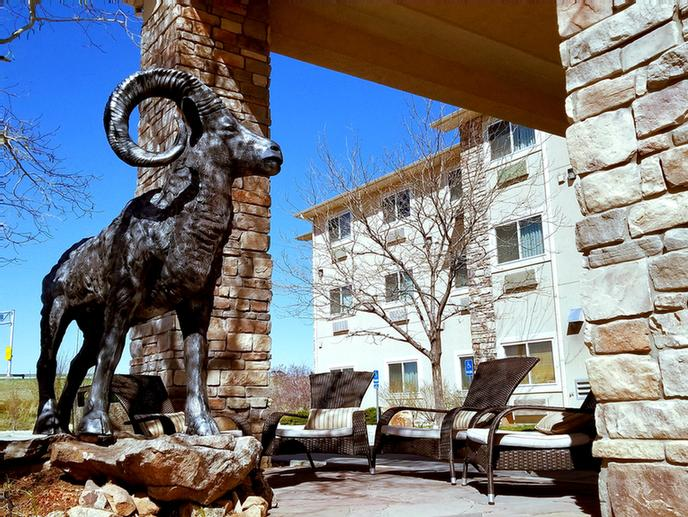Entrance To Hotel With Sam The Ram 8 of 12