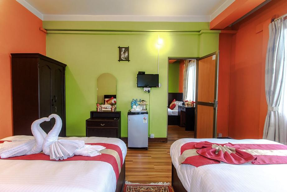 Our All Standard Room Has Connected Services With Luxurious Bed With Modern Matters Breakfast Remote Control System Wall Fan Attached Bathroom With 24 Hour Running Hot Shower Interconnected Tele-Phone Television With Satellite Multi Channel 4 of 16