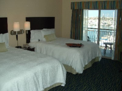 Two Queen Size Beds With A Marina View 5 of 10