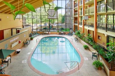 Our Indoor Heated Swimming Pool - The Largest Hotel Pool In The City! 2 of 7