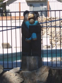 This Is One Of Our Hand Carved Bears Who Greets You As You Drive In! 11 of 11