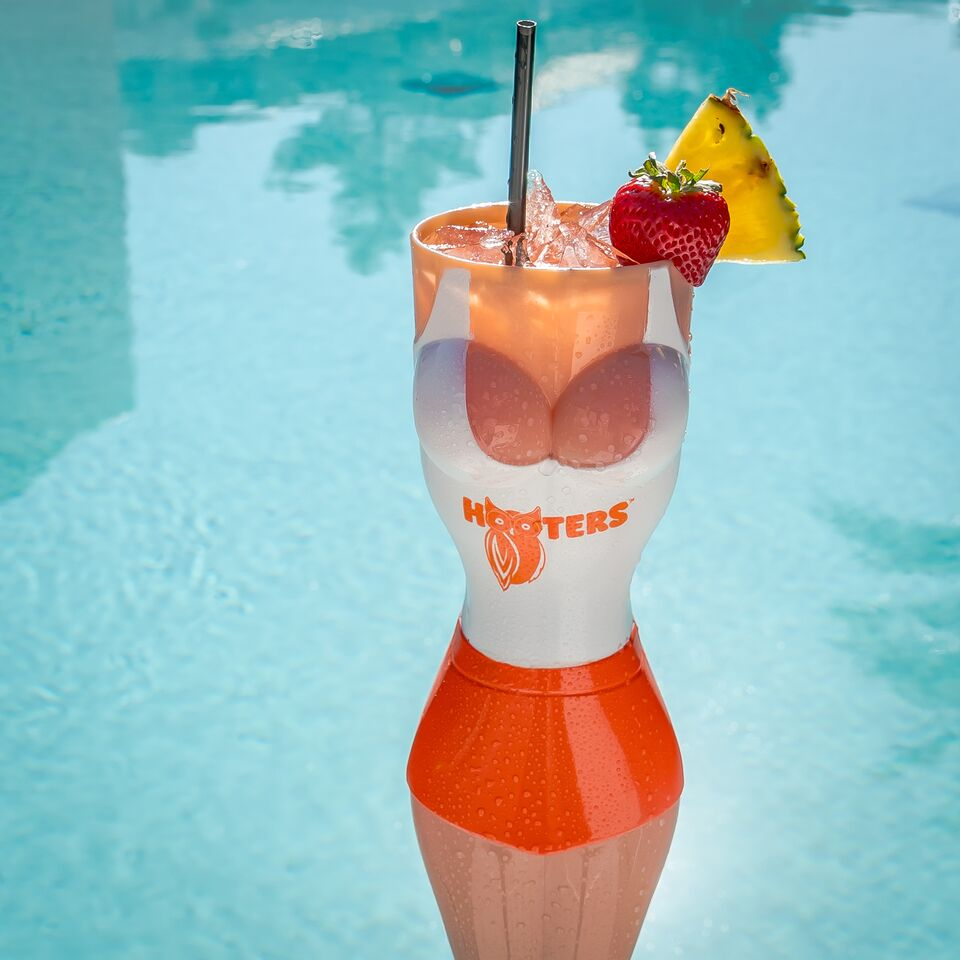 Hooters Girl Cup By The Pool 21 of 22