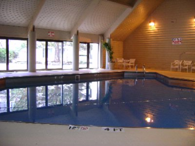 Indoor Pool With Access To Patio 15 of 16