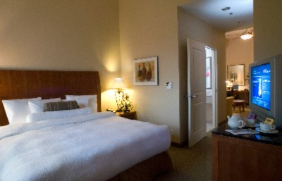 "Our Spacious Junior Suite Bedroom Features Custom Designed Garden Sleep System Beds Which Provide Each Guest With Complete Control Of Their Mattress Refrigerator Microwave Coffeemaker2 27"" Flat Screen Tvs Hair Dryer Iron And Ironing Board. 8 of 19"