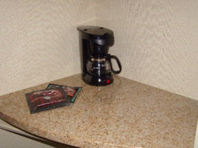 Seperate Counter Space In Guest Rooms For Coffee Maker Leaving You Plenty Of Space Elsewhere 9 of 13
