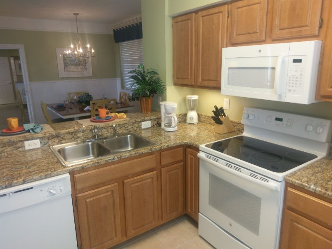 New Kitchen Appliances In Every Villa Along W/washer & Dryer 18 of 20
