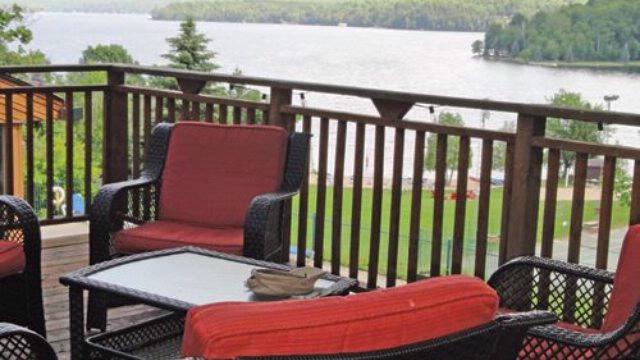 Birches Outdoor Deck With Lake View 4 of 9