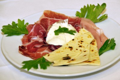 Piadina And Ham Plate 3 of 16