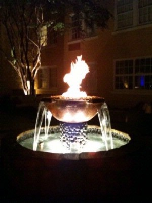 Courtyard Fire Fountain 7 of 10