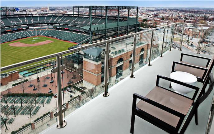 Ballpark View From Hospitality Suite 7 of 14