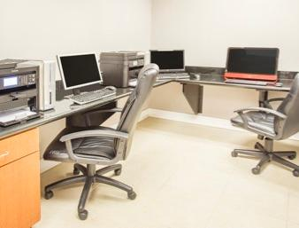Business Center Has 2 Workstations 6 of 12