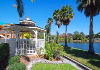 Relax Outside In The Gazebo Over Looking A Beautiful Lake 17 of 17
