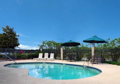 Outdoor Pool With Sundeck 9 of 16