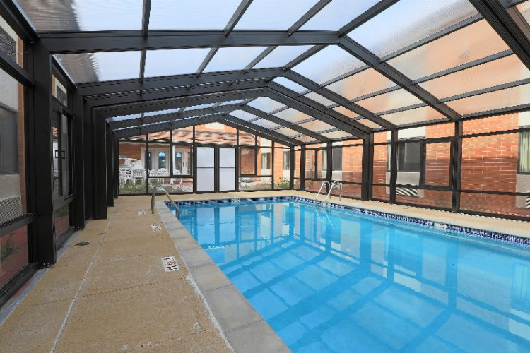 Indoor-Outdoor Swimming Pool 4 of 10