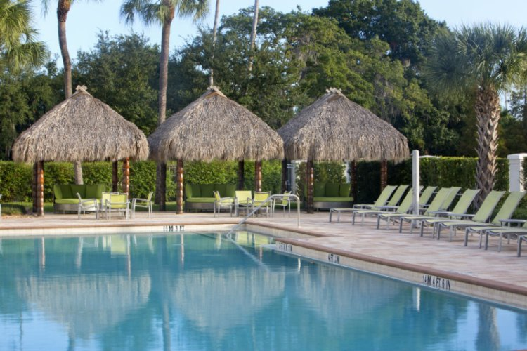 Outdoor Heated Pool & Covered Cabanas 13 of 31