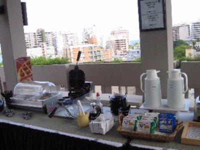Continental Breakfast At The Sky Terrace 6 of 8