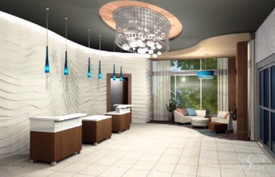Reception Area Rendering 5 of 7