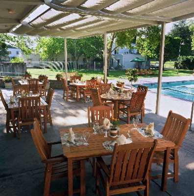 Enjoy Your Meals On Our Beautiful Restaurant Patio 11 of 16