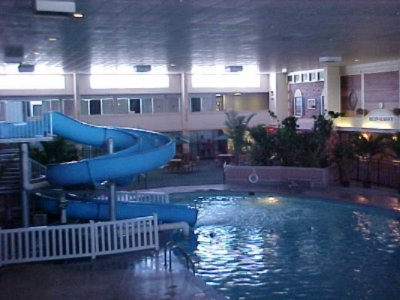 Indoor Pool And Water Slide 8 of 10