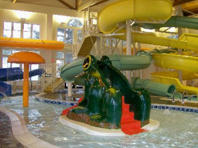 ...with 5000sf Attached Indoor Waterpark! 3 of 6