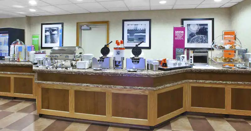 Complimentary Breakfast Bar Served Daily 6am-10am 10 of 15