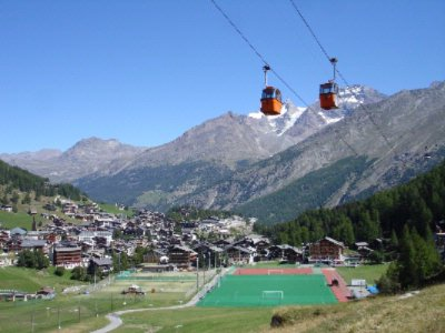In Summer Including All The Cable Cars And Buses In The Saas Valley (Except Summer Skiing ) 2 of 9